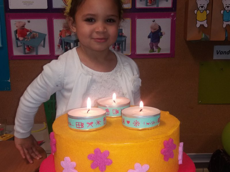 Ylana is 3 jaar
